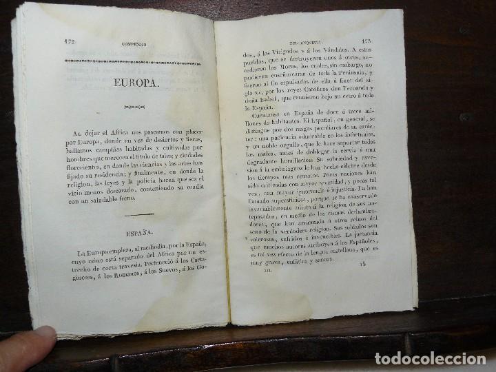 Libros antiguos: COMPENDIO DE LA HISTORIA UNIVERSAL DE ANQUETIL, TOMOS II y III. 1831 - Foto 7 - 65954142
