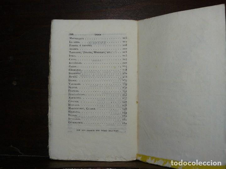 Libros antiguos: COMPENDIO DE LA HISTORIA UNIVERSAL DE ANQUETIL, TOMOS II y III. 1831 - Foto 15 - 65954142