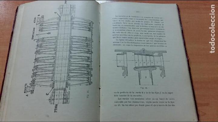 Libros antiguos: TURBINAS MARINAS, J CORNEJO Y V BALIÑO, FERROL LA CORÚÑA 1912. CONTIENE NUMEROSAS FIGURAS - Foto 3 - 66009674