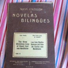 Libros antiguos: NUEVA COLECCIÓN DE NOVELAS BILINGÜES. N5. Lote 66012786