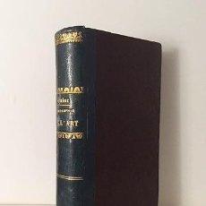 Libros antiguos: H. TAINE : PHILOSOPHIE DE L'ART. ( 1ª EDICIÓN 1865. Lote 66057410