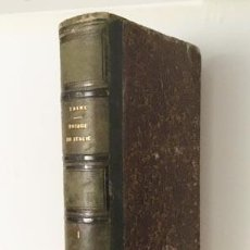 Libros antiguos: H TAINE : VOYAGE EN ITALIE (TOMO 1º) 1ª EDITION. PARIS, HACHETTE 1866.. Lote 66057570