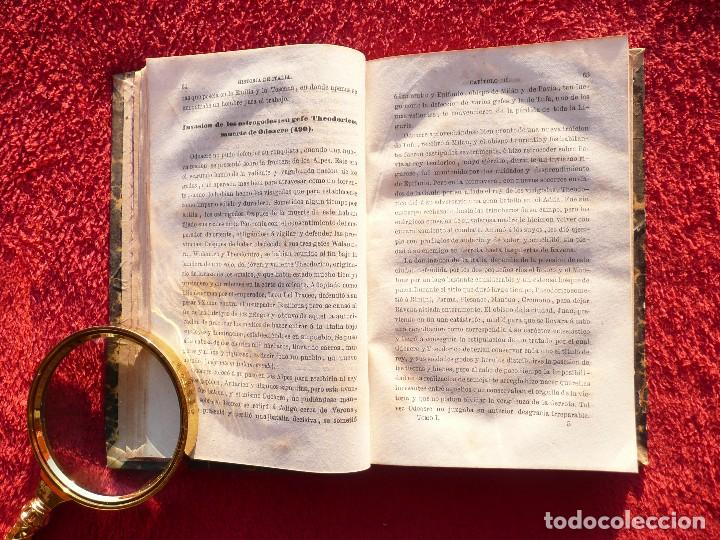 Libros antiguos: HISTORIA DE ITALIA. JULIO ZELLER. JUAN BELZA, TOMO I . EDIT. PLUS ULTRA. BARCELONA. 1858 - Foto 6 - 66135166
