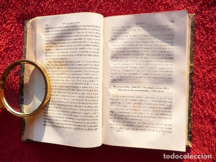 Libros antiguos: HISTORIA DE ITALIA. JULIO ZELLER. JUAN BELZA, TOMO I . EDIT. PLUS ULTRA. BARCELONA. 1858 - Foto 7 - 66135166