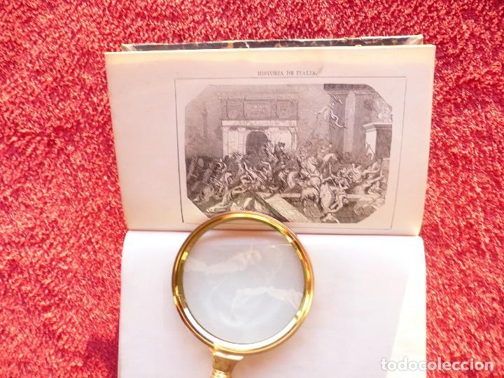 Libros antiguos: HISTORIA DE ITALIA. JULIO ZELLER. JUAN BELZA, TOMO I . EDIT. PLUS ULTRA. BARCELONA. 1858 - Foto 9 - 66135166