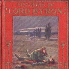 Libros antiguos: ARALUCE : HISTORIAS DE LORD BYRON (C. 1930) ILUSTRACIONES DE RAPSOMANIKIS. Lote 65937717