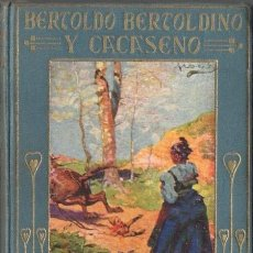 Libros antiguos: BERTOLDO BERTOLDINO Y CACASENO (ARALUCE, 1926). Lote 105987334