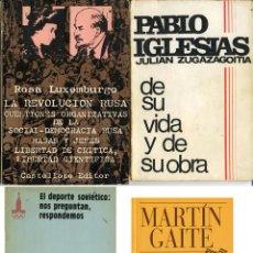 Libros antiguos: LOTE DE CUATRO LIBROS. Lote 66191910