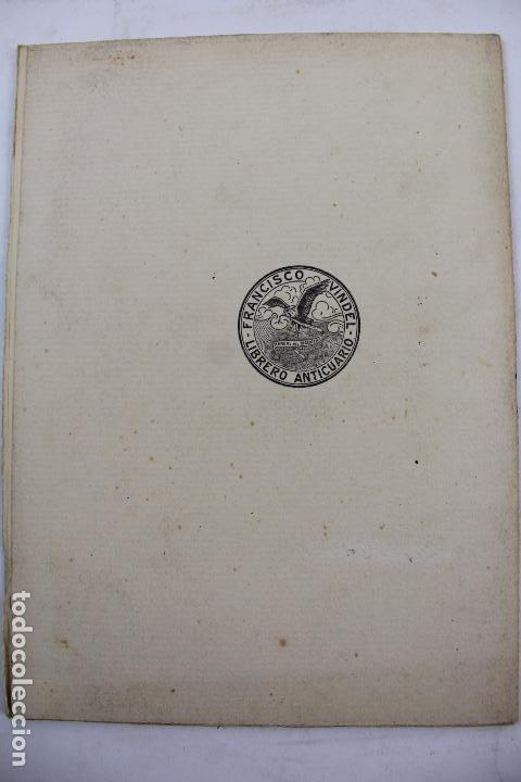 Libros antiguos: L- 4160. CERVANTES, ROBLES Y JUAN DE LA CUESTA. FRANCISCO VINDELL. 1934. - Foto 6 - 66223502
