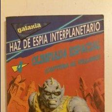 Libros antiguos: HAZ DE ESPÍA INTERPLANETARIO OLIMPIADA ESPACIAL CAPTURA AL VILLANO - DAIMON GENTE JOVEN . Lote 66282618
