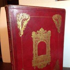 Libros antiguos: TITULO ORIGINAL DE NOBLEZA 1859. DOCUMENTO UNICO EN EXCEPCIONAL ESTADO.. Lote 66501670