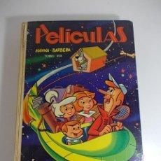 Libros antiguos: LIBRO DE PELICULAS (PIOLIN, LOS PICAPIEDRA, EL OSO YOGUI) TOMO XIX EDITORIAL JOVIAL HANNA-BARBERA.. Lote 66309030