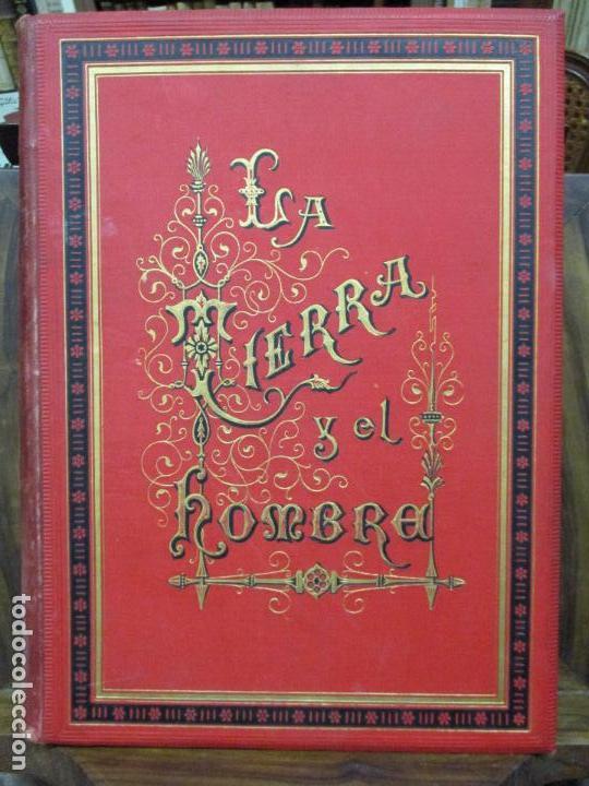 Libros antiguos: LA TIERRA Y EL HOMBRE DESCRIPCIÓN PINTORESCA DE NUESTRO GLOBO. FEDERICO DE HELLWALD. 1886-87. - Foto 2 - 82531596