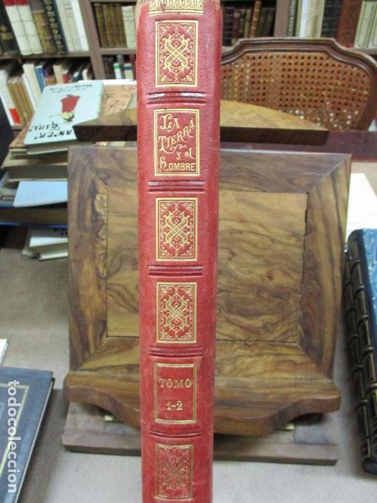 Libros antiguos: LA TIERRA Y EL HOMBRE DESCRIPCIÓN PINTORESCA DE NUESTRO GLOBO. FEDERICO DE HELLWALD. 1886-87. - Foto 3 - 82531596