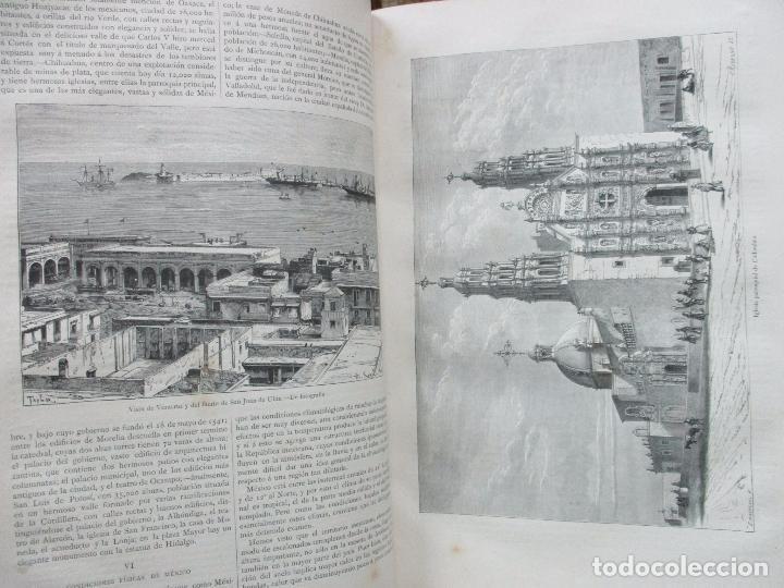 Libros antiguos: LA TIERRA Y EL HOMBRE DESCRIPCIÓN PINTORESCA DE NUESTRO GLOBO. FEDERICO DE HELLWALD. 1886-87. - Foto 7 - 82531596