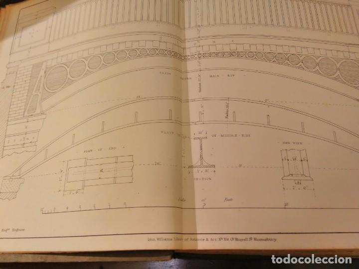 Libros antiguos: S.C. Brees. Railway Practice. Volumen II. Atlas de obras públicas de ferrocarriles Ca 1840 - Foto 6 - 66821078
