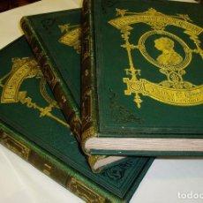 Libros antiguos: LA EDUCACIÓN DE LA MUJER AÑO 1878. 1ª EDICIÓN. TRES TOMOS. MUY BUEN ESTADO. Lote 66823706
