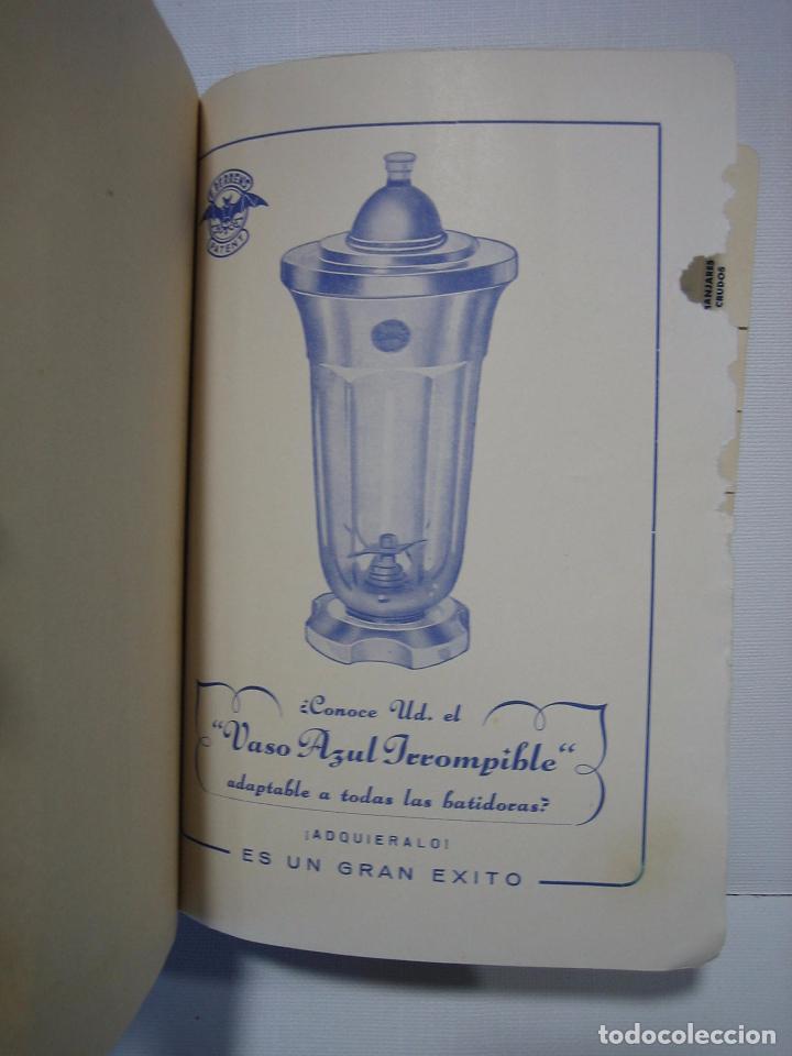 Libros antiguos: Recetario. Manual técnico de la batidora Berrens - Foto 2 - 66876486
