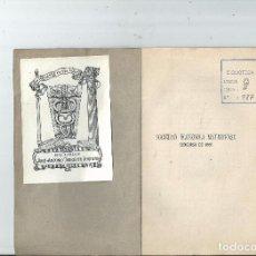 Libros antiguos: 1881 - MADRID - HECHOS VIRTUOSOS PREMIADOS ... SOCIEDAD ECONÓMICA MATRITENSE EX LIBRIS. Lote 57875313