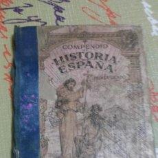 Libros antiguos: LIBRO COMPENDIO DE HISTORIA DE ESPAÑA. G. M. BRUÑO. SOBRE 1930. Lote 67042333