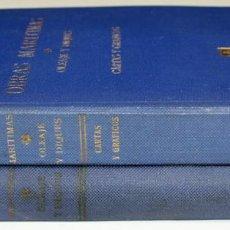 Libros antiguos: 8188 - OBRAS MARITIMAS. 2 VOLÚMENES.(VER DESCRIP). R. IRIBARREN. EDIT. DOSSAT. 1954.. Lote 67109229