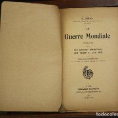 Libros antiguos: 8190 - LA GUERRE MONDIALE (194-1918). H. CORDA. LIBR. CHAPELOT. 1922.. Lote 67131333
