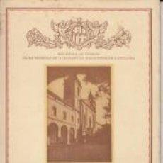 Libros antiguos: CERVERA 1935 F.RAQUÍN FABREGAT BIBLIOTECA DE TURISMO SOCIEDAD ATRACCIÓN FORASTEROS BARCELONA. Lote 67226409
