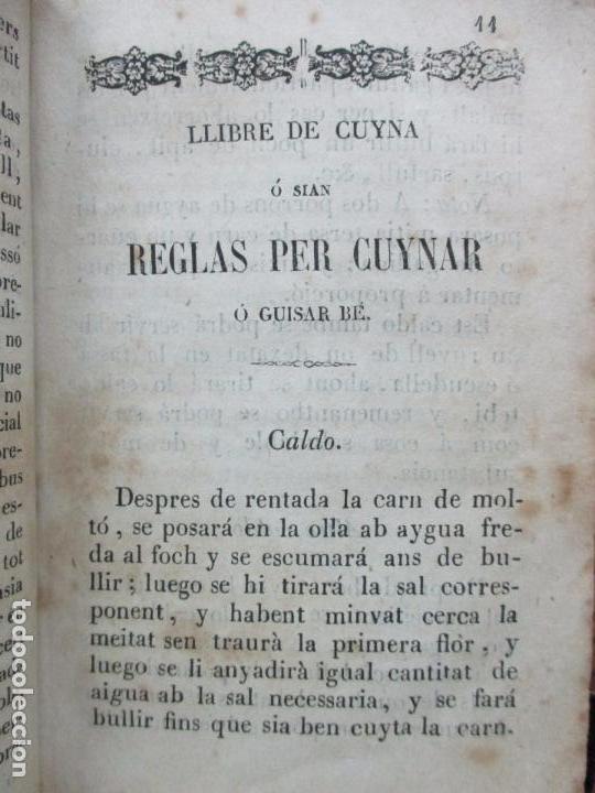 Libros antiguos: LA CUYNERA CATALANA ó sia reglas útils, facils,... - Foto 5 - 67331133