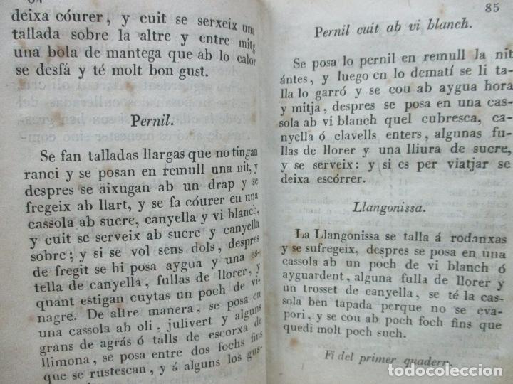 Libros antiguos: LA CUYNERA CATALANA ó sia reglas útils, facils,... - Foto 6 - 67331133