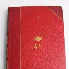Libros antiguos: L- 4208. UN LIBRO MAS, E. PASTOR Y BEDOYA. 1881.. Lote 67405837