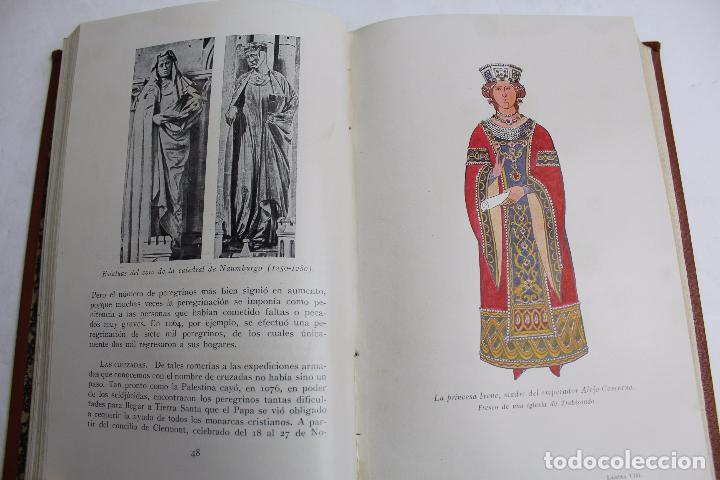 Libros antiguos: L- 4246. LA MODA, HISTORIA DEL TRAJE EN EUROPA, MAX VON BOEHN. 1928. - Foto 5 - 67569285