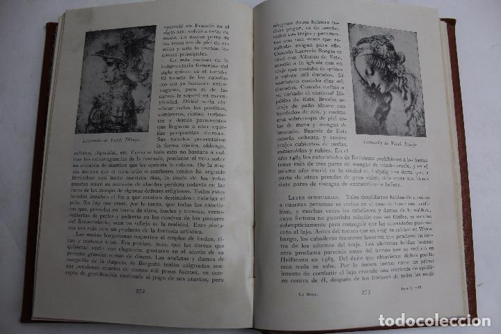 Libros antiguos: L- 4246. LA MODA, HISTORIA DEL TRAJE EN EUROPA, MAX VON BOEHN. 1928. - Foto 8 - 67569285