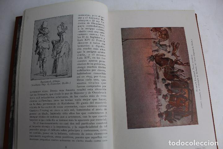 Libros antiguos: L- 4246. LA MODA, HISTORIA DEL TRAJE EN EUROPA, MAX VON BOEHN. 1928. - Foto 24 - 67569285