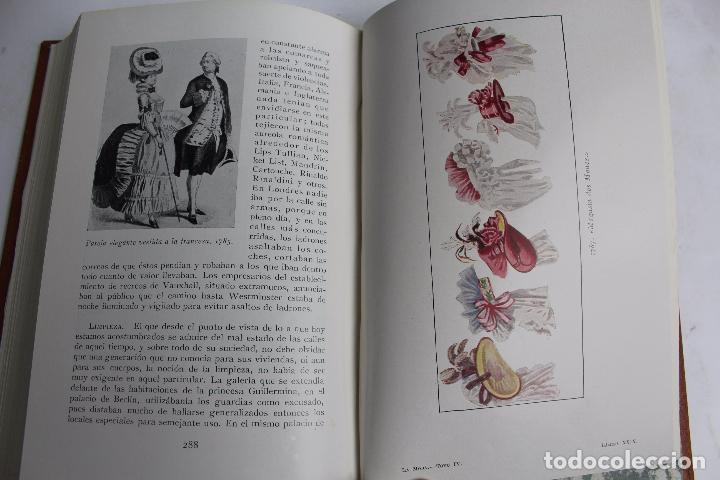 Libros antiguos: L- 4246. LA MODA, HISTORIA DEL TRAJE EN EUROPA, MAX VON BOEHN. 1928. - Foto 36 - 67569285