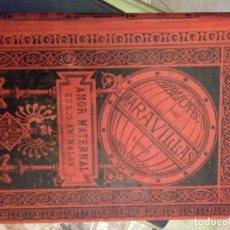 Libros antiguos: AMOR MATERNAL EN LOS ANIMALES. Lote 67594209