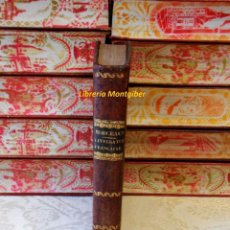 Libros antiguos: RECUEIL EN PROSE ET EN VERS DES PLUS BEAUX MORCEAUX DE LA LITTERATURE FRANÇAISE, À L'USAGE DE L'ECOL. Lote 67674953
