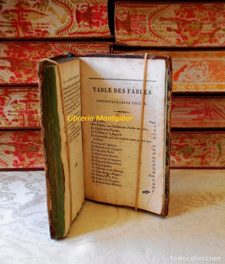 Libros antiguos: LE LA FONTAINE DES ENFANS ou choix de fables de La Fontaine, les plus simples et les plus morales . - Foto 8 - 67676849