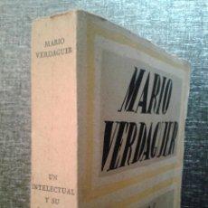 Libros antiguos: UN INTELECTUAL Y SU CARCOMA (1934), MARIO VERDAGUER (MAHÓN, 1885 – BARCELONA, 1963). Lote 67873813