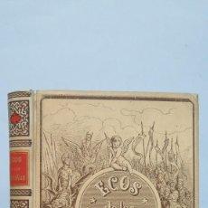 Libros antiguos: 1894.- ECOS DE LAS MONTAÑAS. JOSE DE ZORRILLA. ILUSTRADO POR DORE. ED. MONTANER Y SIMON. Lote 67875009