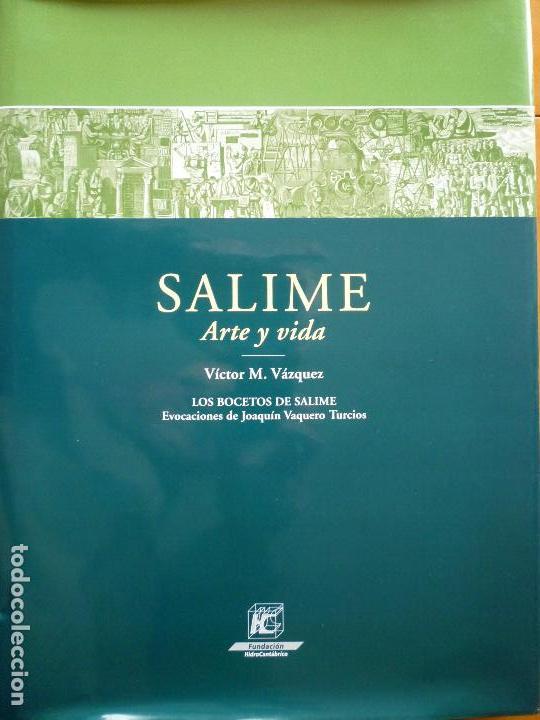 Libros antiguos: SALIME ARTE Y VIDA (ASTURIAS) - VICTOR M. VAZQUEZ - JOAQUIN VAQUERO TURCIOS - Foto 2 - 50007261