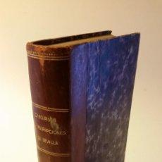 Libros antiguos: 1875 - AMADOR DE LOS RÍOS - INSCRIPCIONES ÁRABES DE SEVILLA (JUNTO A OTRAS DOS OBRAS). Lote 67918505