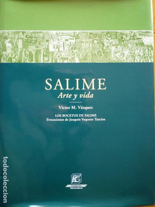 SALIME ARTE Y VIDA (ASTURIAS) - VICTOR M. VAZQUEZ - JOAQUIN VAQUERO TURCIOS (Libros Antiguos, Raros y Curiosos - Bellas artes, ocio y coleccionismo - Otros)