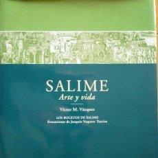 Libros antiguos: SALIME ARTE Y VIDA (ASTURIAS) - VICTOR M. VAZQUEZ - JOAQUIN VAQUERO TURCIOS. Lote 50007261