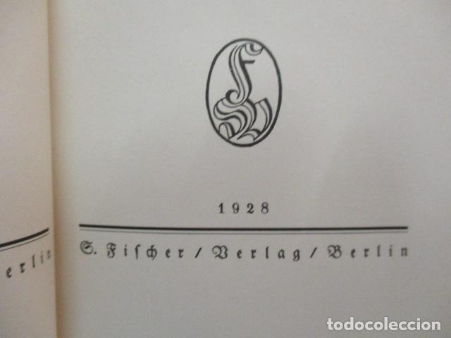 Libros antiguos: Der Fall Maurizius. Roman. 1. bis 25. Auflage. (Alemán) Tapa dura – 1928 de Jakob Wassermann - Foto 10 - 67984725