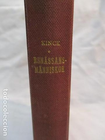 Libros antiguos: Renassansmanniskor - Historien om Nikolo Machiavelli - Hans E. Kinck (en Holandes) 1928, (ver fotos) - Foto 3 - 67985357