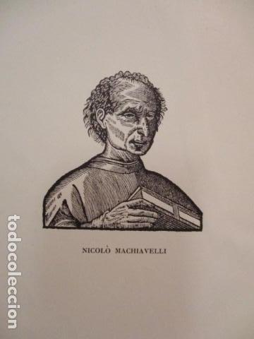 Libros antiguos: Renassansmanniskor - Historien om Nikolo Machiavelli - Hans E. Kinck (en Holandes) 1928, (ver fotos) - Foto 5 - 67985357