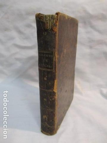 Libros antiguos: PENSAMIENTOS DE PASCAL SOBRE LA RELIGION, ANDRES BOGGIERO.ZARAGOZA 1790 - Foto 3 - 67996141