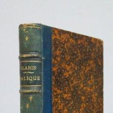 Libros antiguos: 1893.- PALIQUE. LEOPOLDO ALAS CLARIN. Lote 68324405