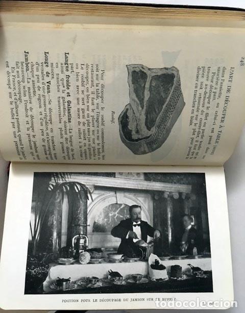 Libros antiguos: Rey: Guide du maître dhôtel et du restaurateur. (1907) (Cocina, Gastronomía antigua - Foto 4 - 68377897