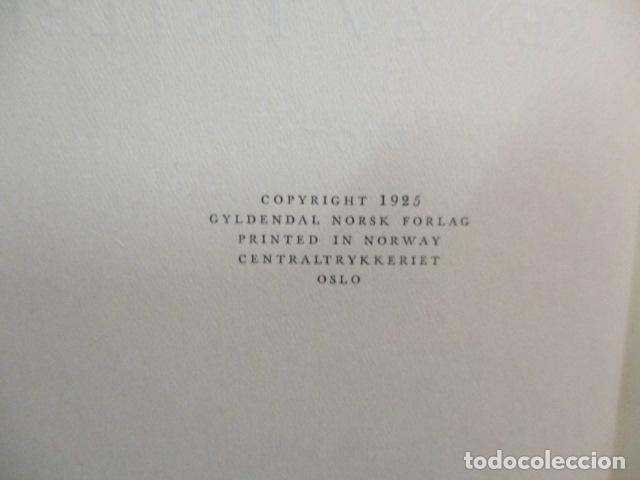 Libros antiguos: Finken Av Tistler - Herman Wildenvey - ( En Noruego) - año 1925 - ver fotos - Foto 9 - 68391833